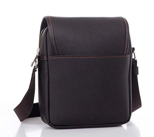 Asatr Men Casual Leather Shoulder Messenger Bag for Men Work Outdoor Crossbody Bag by Asatr (Image #2)