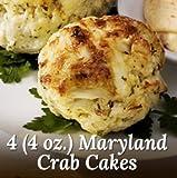4 Quarter Pound Maryland Crab Cakes - Chicago Steak Company - PSG24