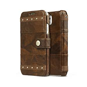 Smart Tech ®Samsung Galaxy Note 3 Bohemian M Diary Wallet Case Cover High End Genuine Leather Case for Galaxy Note III (Brown)