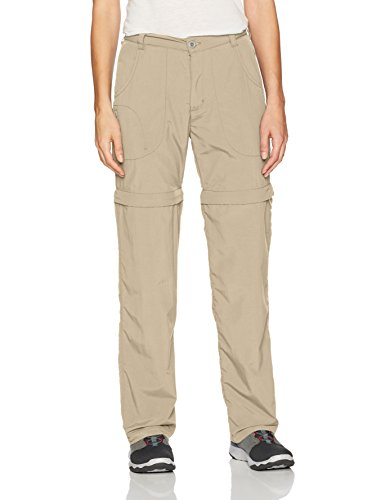 White Sierra Women's Sierra Pt. Convertible Pants - Extended Size, Khaki, 3X by White Sierra