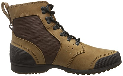 Sorel Ankeny Mid Hiker Ripstop Boot - Mens Grizzly Bear, Hickory