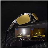 Oculos De Sol Polarizado Visão Noturna Dirigir A Noite Luxo