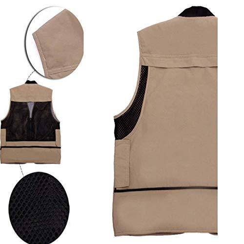 Clip Quick Drying Nero Horse Vest Essenziale Multi Mountain Mens Red Pocket Fishing Director Leisure Outdoor Gilet Fotografia waqZqE