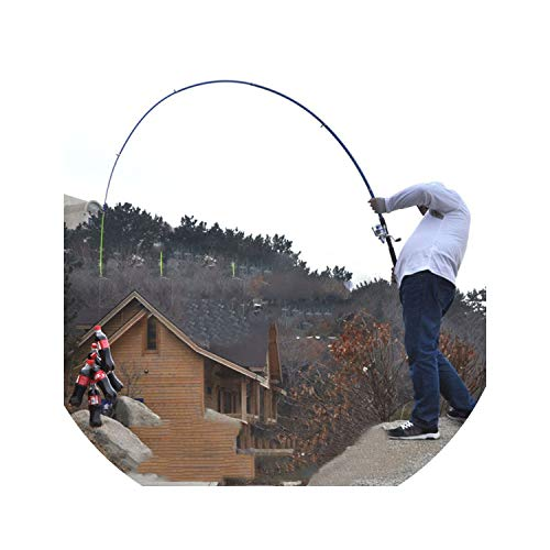 Outdoor Fishing High Strength Fiberglass Winter Sea Fishing Rod Telescopic Ice Fishing Rod Pole Carp Whip Fishing Tackle Tools,2.7 m