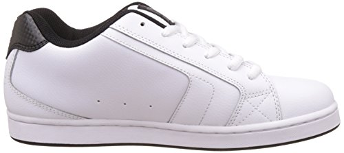 DC Net Fashion - Zapatillas de skate para hombres Blanco (White/battleship/white)