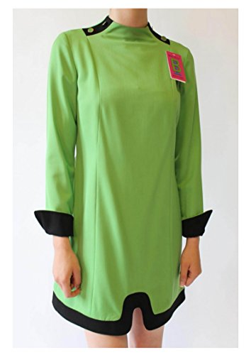 Italian Wool Cuffs Green Bruno High Women's Couture Neck IERULLO 100 and Dress Eqp7A