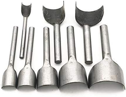 Leather Craft Half-Round Cutter Punch Strap Tools Belt Wallet End DIY 5-50MM