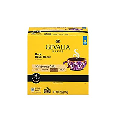Gevalia Single-Cup Coffee for Keurig K-Cup Brewers from Gevalia