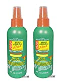 Product review for 2 Bottles - Avon Skin so Soft Bug Guard Plus Expedition SPF 30 Pump Spray