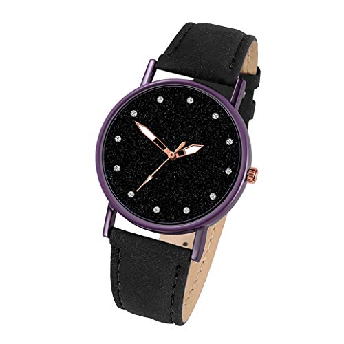 Roumin Casual Watch Stainless Steel Dial, Business Luxury Watch Quartz Watch(Black)