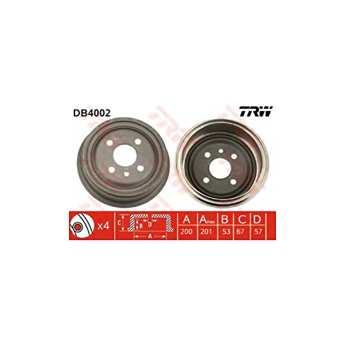 TRW DB4002 Brake Drums: