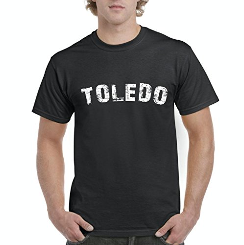 Blue Tees Toledo Ohio Spain Home State Fashion