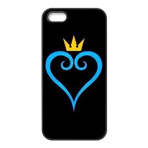 iPhone 5,5S Phone Cases Black Kingdom Hearts DEM721172