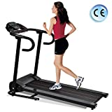 Murtisol 1100W Folding Treadmill Good for Home/Apartment Fitness Compact Electric Running Exercise Machine with Safe Handlebar and LCD Display Easy Control