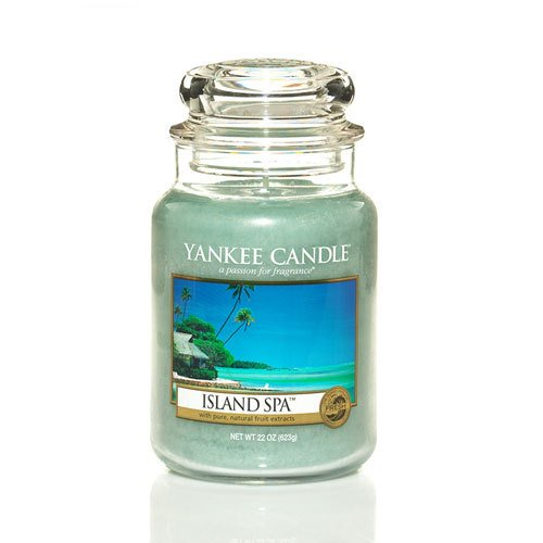 Yankee Candle Island Spa Large Jar Candle, Fresh Scent