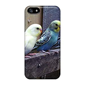 Sanp On Case Cover Protector For Iphone 5/5s (parakeets)