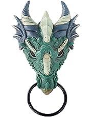 jiangye Draak deurklopper hars simulatie speciaal beeld figuur decoratie voor deur muur ornament / draak deur knocker hars mulatie speciaal beeld figuur decoratie voor deur muur ornament