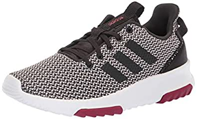 adidas Originals Women's CF Racer TR Running Shoe, Ice Purple/Carbon/Mystery Ruby, 5 M US