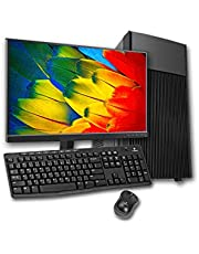 PC Completo Intel Core 2 Quad, 4GB RAM DDR3, HD 500GB + SSD 120GB, Monitor 18,5' LED, Wi-fi, Teclado e Mouse
