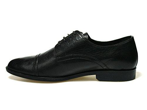 Red Tape Fane - Zapatos de cordones de Piel para hombre Negro negro