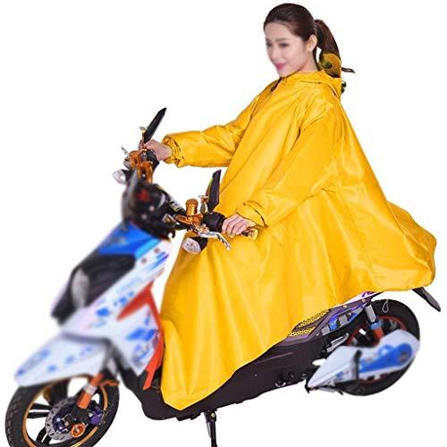 Pluie Électrique Classique Épaississement Poncho Imperméable Voiture Solide 1 Couleur Fille Extérieur Capuche Moto Adulte PWwwHv5qA