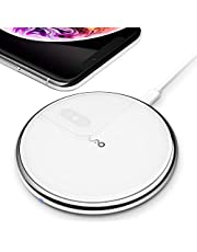 Vebach Dubhe1 Wireless Charger, Qi Certified 7.5W Fast Wireless Charging Pad Compatible with iPhone XS Max/XR/XS/X/8/8 Plus, 10W for Galaxy S10/S9/S9+/Note 9/S8/S8+/S7, Huawei Mate 20 Pro/P30 Pro