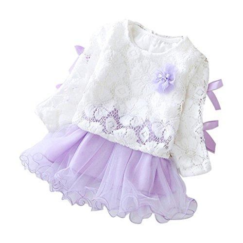 Kobay Herbst Infant Baby Kinder Mädchen Party Spitze Tutu Prinzessin ...