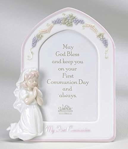 Valencia First Holy Communion Porcelain Girl Picture Frame