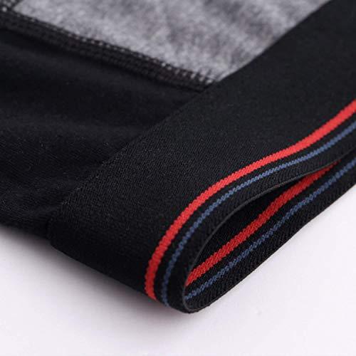Sport Lunga rot Cotone Di Uomo Gamba Moda Gelb Marca Bicolore Pantalone Elasticizzati Mode Pantaloncini OfIP1xz