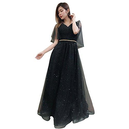 Drasawee Damen Empire Kleid Empire Schwarz Schwarz Drasawee Damen Drasawee Kleid rrqdSpFwx