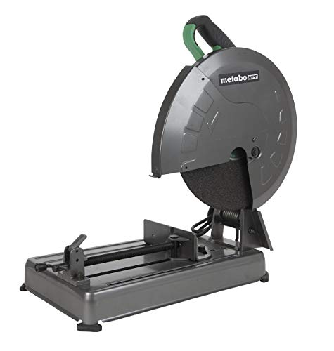 "Metabo HPT Metal Chop Saw, 14"" Cut-off Wheel, Portable and Lightweight, Powerful 15-Amp Motor (CC14SFS)"