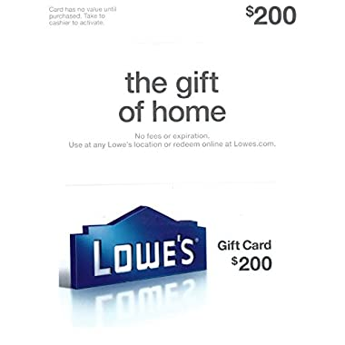 Lowe's $200 Gift Card