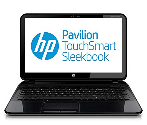 (HP Pavilion Touchsmart 15-b153nr 15.6-inch Sleekbook AMD 1.6GHz 4555M Processor, 6GB Ram, 750GB Hard Drive Windows 8)