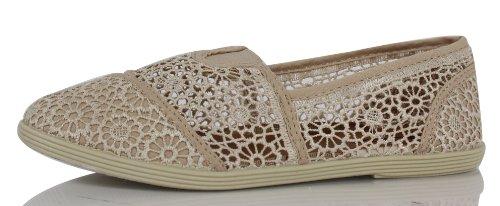 Women's Soda Slip Shoes Flat Crochet Cope On gaqCwS6