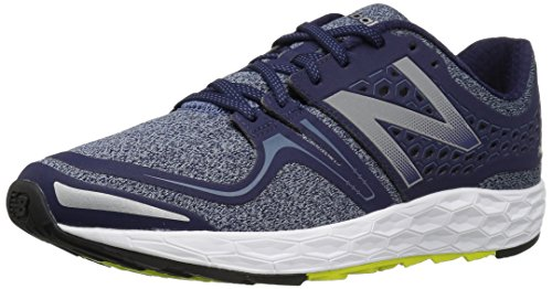 New Balance Men's Fresh Foam Vongo-M Running Shoe, Dark Denim/Hi Lite, 15 D US