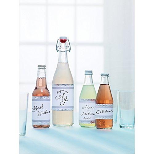 Martha Stewart Crafts Doily Lace Assorted Beverage Labels