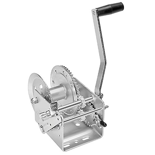 Fulton 142411 Dual Speed Winch with Hand Brake - 2600 lbs. Capacity, 1 Pack