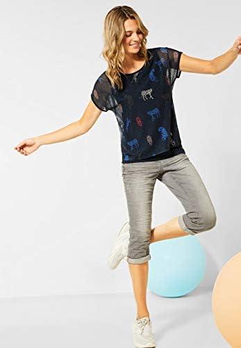 Cecil damska koszulka w stylu warstwowym: Odzież
