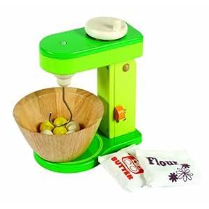 Santoys - Wooden Toys - Food & Shop Role Play - Mixer & Bowl