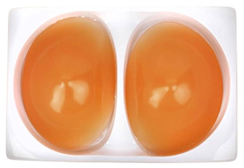 Beauty Form Silicone Breast Form Enhancer With Raised Nipple (Large)