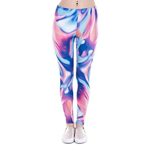 Yoga Pantaloni A Fitness Leggins Di Neon Pingrog Pink Da Lga43853 Print Alta Donne Vita Leggings Nuove Blue Legging Elegante Donna Unico Moda qEdTxpxwB