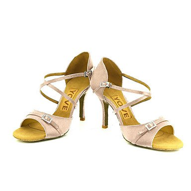 Azul Rosa Blanco Tacón Negro Morado Zapatos Amarillo Latino Rojo Purple Personalizado de Personalizables Salsa baile wUqTZxx4p