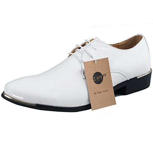 Z joyee Leather pointed Oxfords Wedding product image