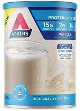 Atkins Gluten Protein Powder Vanilla