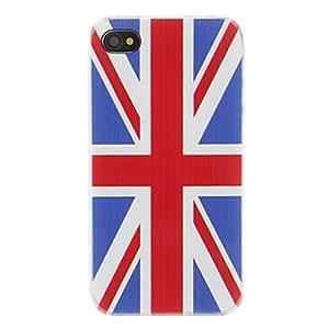 TY- Creativa estuche rígido estilo de la bandera del Reino Unido para iPhone 4/4S