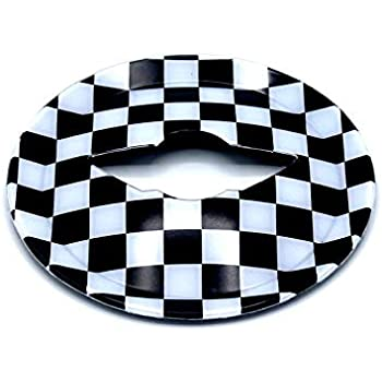 Amazon Com Hdx Black White Check Flag Checkered Abs