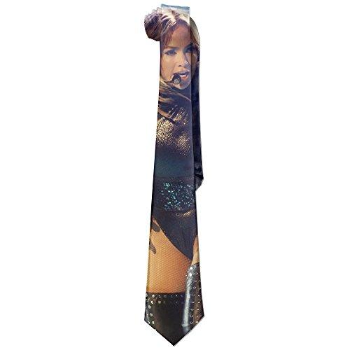 Bond Girl Costumes (Mens Jennifer Lopez Kneel Down Leisure Wide Tie Necktie Costume Accessory Fashion Design)