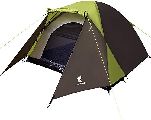 GEERTOP Camping Tent 2 Person for Backpacking 3 Season Lightweight Easy Set Up for Outdoor Hiking Travel Picnic – Duckbill Tent