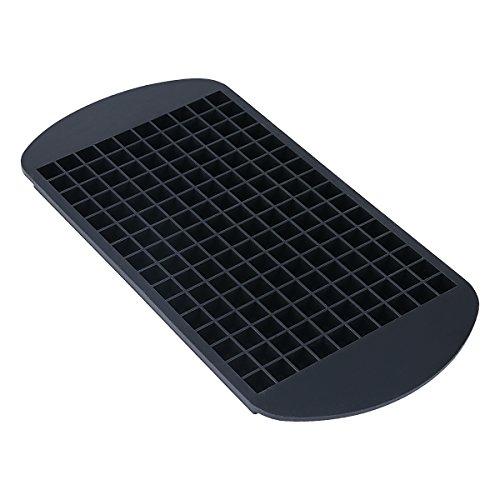 Belmalia Eiswürfelform für 160 Mini Eiswürfel Schwarz