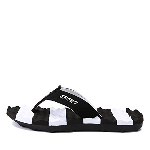 Thong Hasta 45eu Black Suela color Juans Tamaño shoes Zapatos Para Size El Flop Slipper Casual Unisex Blanda Masaje Flip Hombre 48eu Supper Yellow wwY4p61q